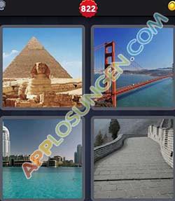 4 bilder 1 wort level 822 lösung BAUWERK - 4 bilder 1 wort level 822 lösung BAUWERK