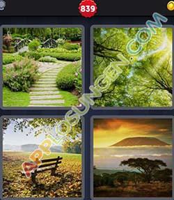 4 bilder 1 wort level 839 lösung PARK - 4 bilder 1 wort level 839 lösung PARK