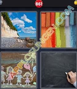 4 bilder 1 wort level 861 lösung KREIDE - 4 bilder 1 wort level 861 lösung KREIDE