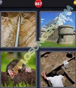 4 bilder 1 wort level 867 lösung GRABEN - 4 bilder 1 wort level 867 lösung GRABEN