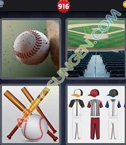 4 bilder 1 wort level 916 lösung BASEBALL - 4 bilder 1 wort level 916 lösung BASEBALL