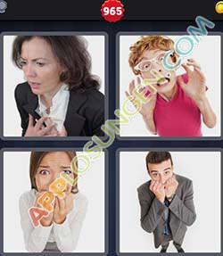 4 bilder 1 wort level 965 lösung ANGST - 4 bilder 1 wort level 965 lösung ANGST