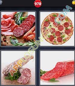4 bilder 1 wort level 978 lösung SALAMI - 4 bilder 1 wort level 978 lösung SALAMI