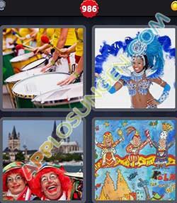 4 bilder 1 wort level 986 lösung KARNEVAL - 4 bilder 1 wort level 986 lösung KARNEVAL