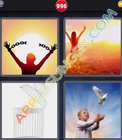 Vier Bilder Ein Wort Level 2000