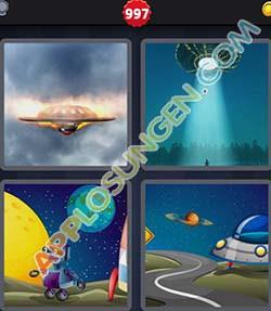 4 bilder 1 wort level 997 lösung UFO - 4 bilder 1 wort level 997 lösung UFO