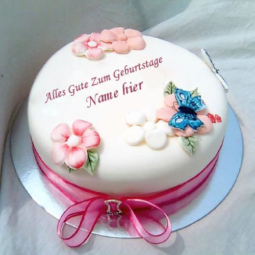 Geburtstagskuchen 17 1 - Geburtstagskuchen für Schwester mit Namen