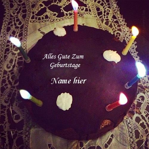 Geburtstagskuchen 18 1 - Geburtstags Kuchen für Jungen Freund mit Namen