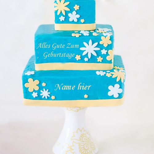 Geburtstagskuchen 9 1 - Cooler alles Gute zum Geburtstagkuchen mit Namen