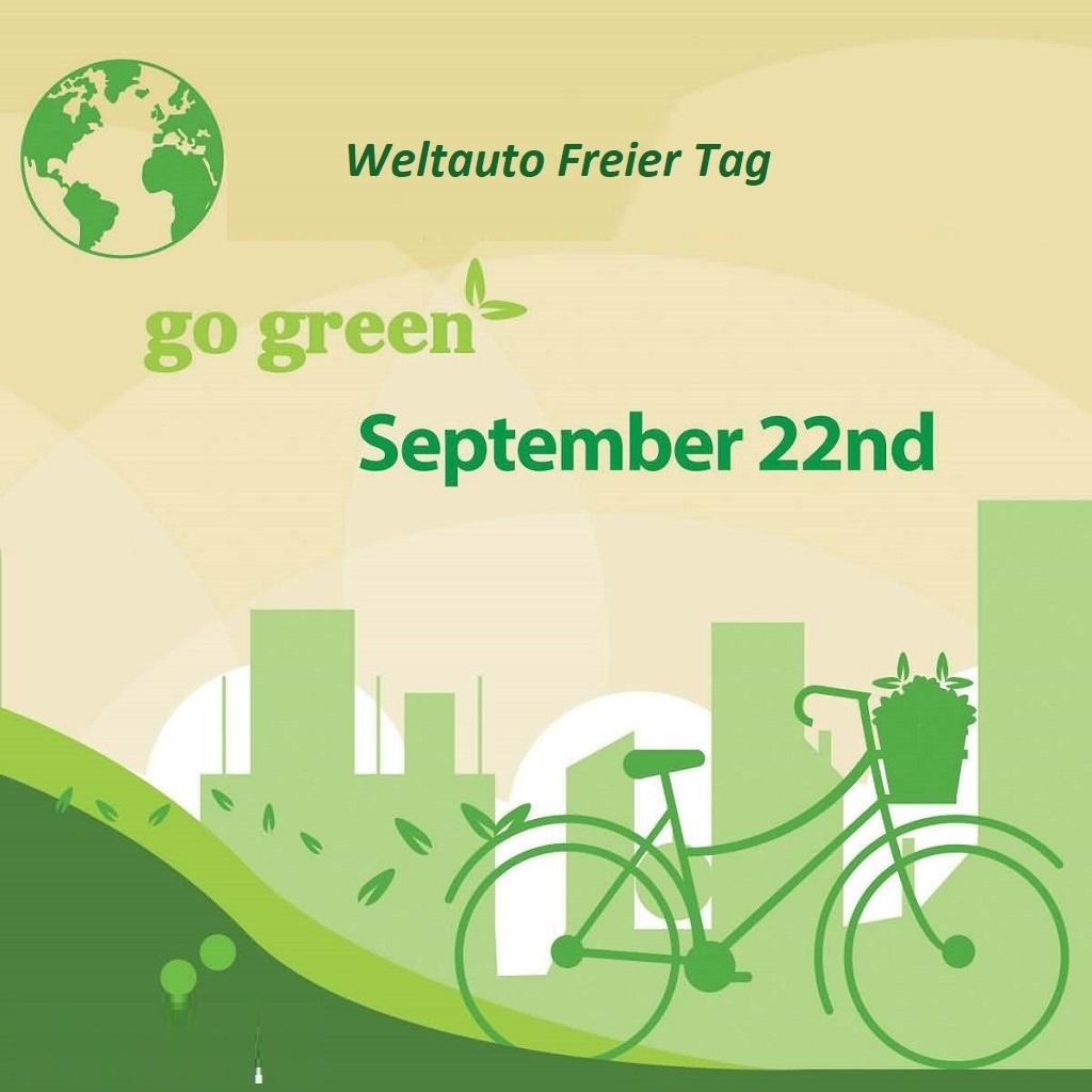 Weltauto Freier Tag - Weltauto Freier Tag