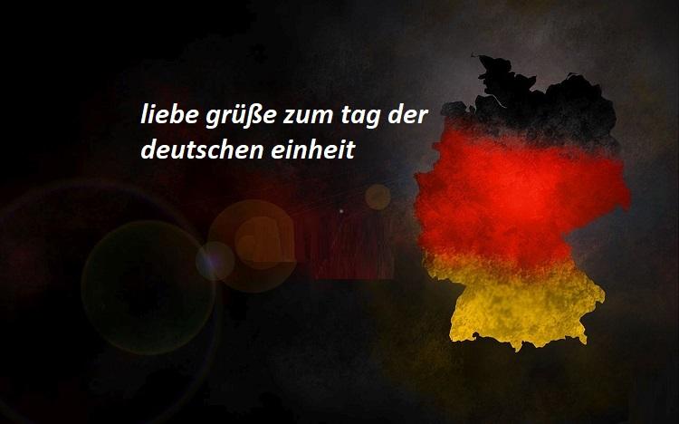 einheit - Schreib deinen Namen auf tag der deutschen einheit
