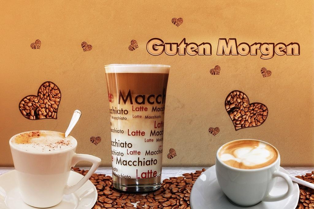 guten morgen kaffee für dich