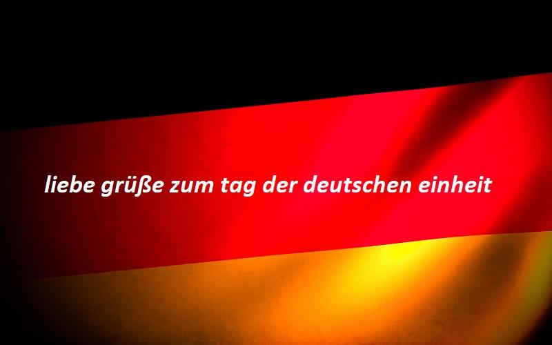 liebe grüße zum tag der deutschen einheit 1 - liebe grüße zum tag der deutschen einheit