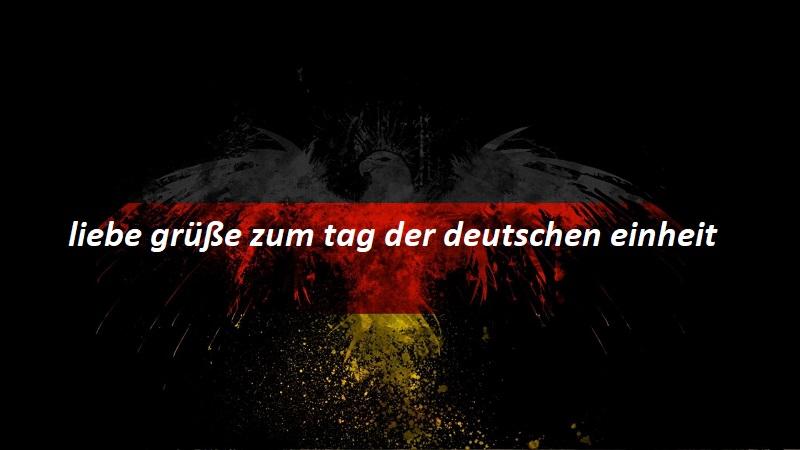liebe grüße zum tag der deutschen einheit 2 - liebe grüße zum tag der deutschen einheit