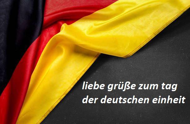 liebe grüße zum tag der deutschen einheit - liebe grüße zum tag der deutschen einheit