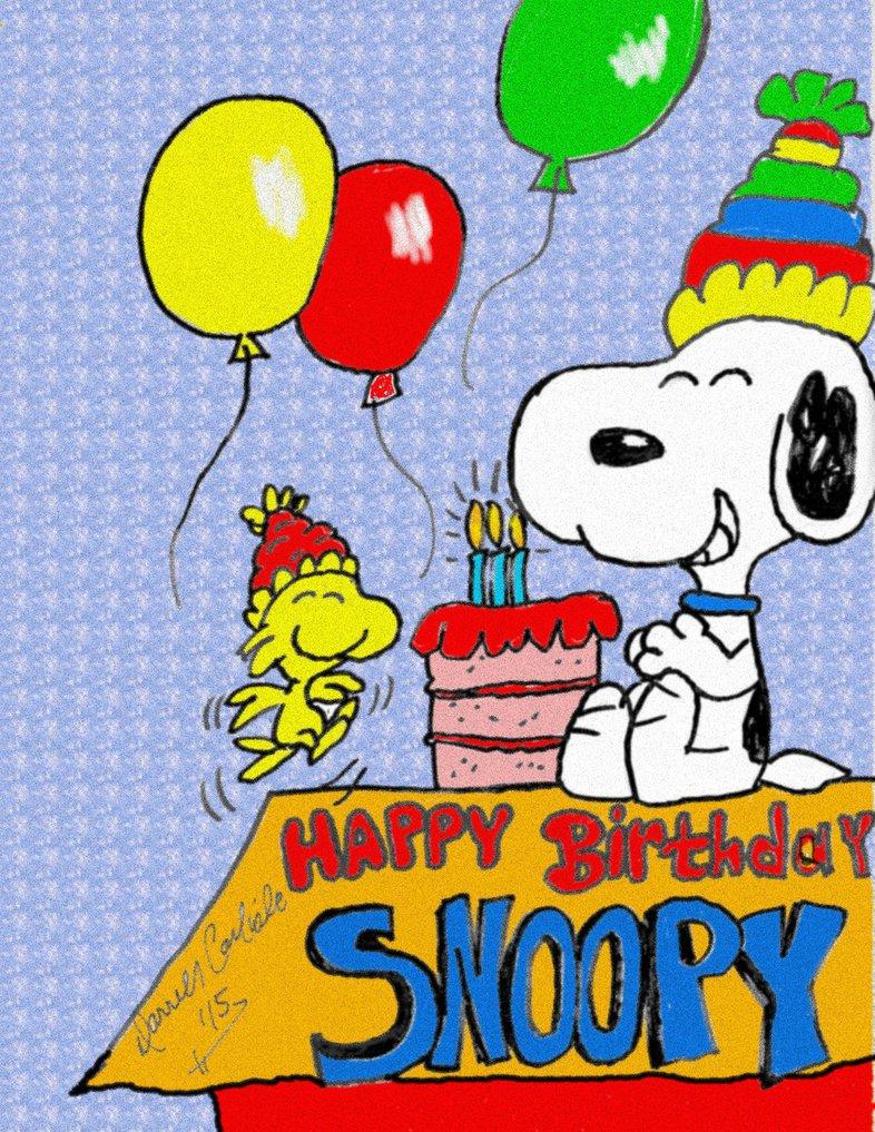 Happy Birthday Peanuts Gang Snoopy Zitate Glucklicher