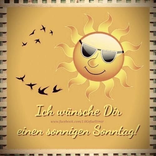 Sonntag grüße zum Schönen sonntag