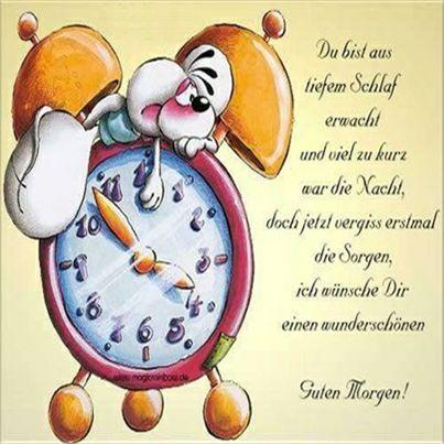 Einen schönen guten morgen wünschen - Einen schönen guten morgen wünschen