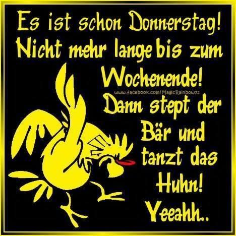 Spruch Donnerstag Lustig Bilder Und Sprüche Für Whatsapp