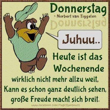 Spruch Schönen Donnerstag Bilder Und Sprüche Für Whatsapp Und