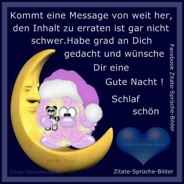 Gute Nacht Sprüche Für Freunde Facebook Bilder Und Sprüche