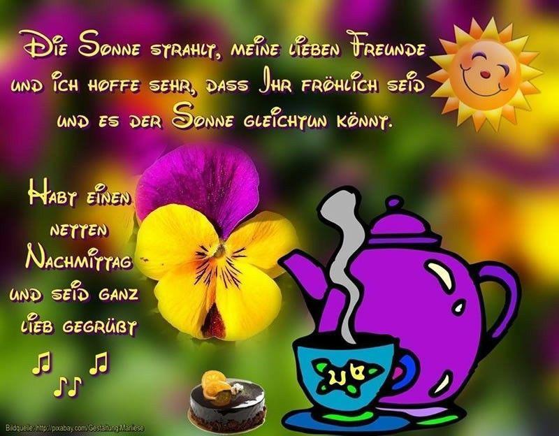 Guten Morgen Und Einen Schönen Tag Bilder Nachmittags - Guten Morgen Und Einen Schönen Tag Bilder Nachmittags
