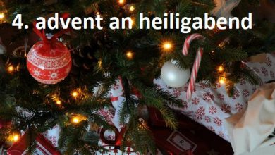 4. advent an heiligabend
