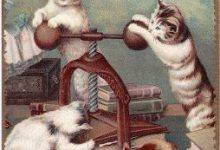 Gemälde Katze 220x150 - Gemälde Katze