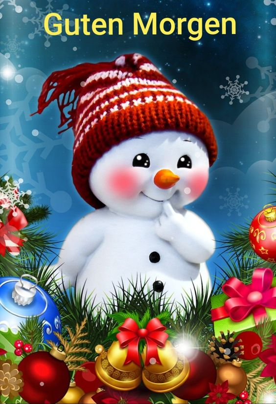 Guten Morgen Weihnachten Bilder Und Sprüche Für Whatsapp