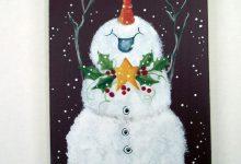 Schneemann Gesicht Malen 220x150 - Schneemann Gesicht Malen