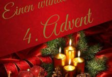 Viel Grüße zum 4. Advent
