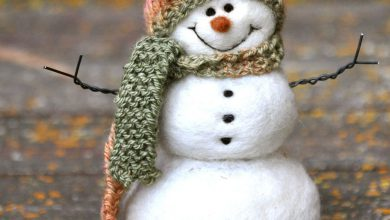 Winterbilder Schneemann 390x220 - Winterbilder Schneemann