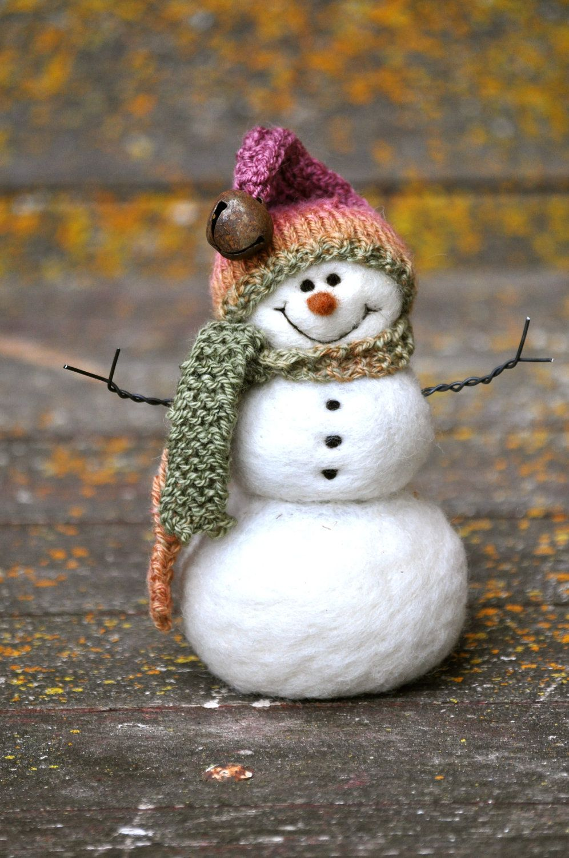 Winterbilder Schneemann - Winterbilder Schneemann