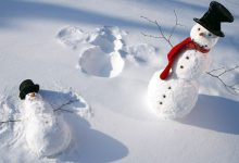Witzige Schneemänner 220x150 - Witzige Schneemänner