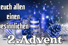 Glückwünsche zum 2. advent