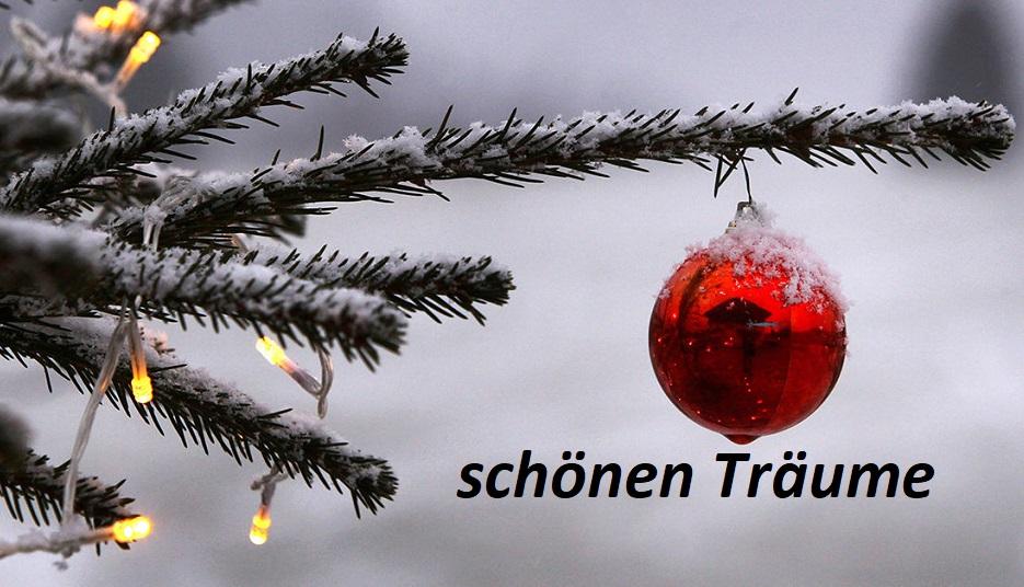 schönen Träume Weihnachten - Schönen Träume