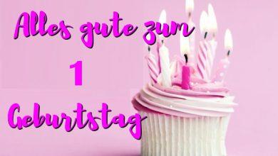 Alles Gute Zum 1 Geburtstag  390x220 - Alles Gute Zum 1 Geburtstag