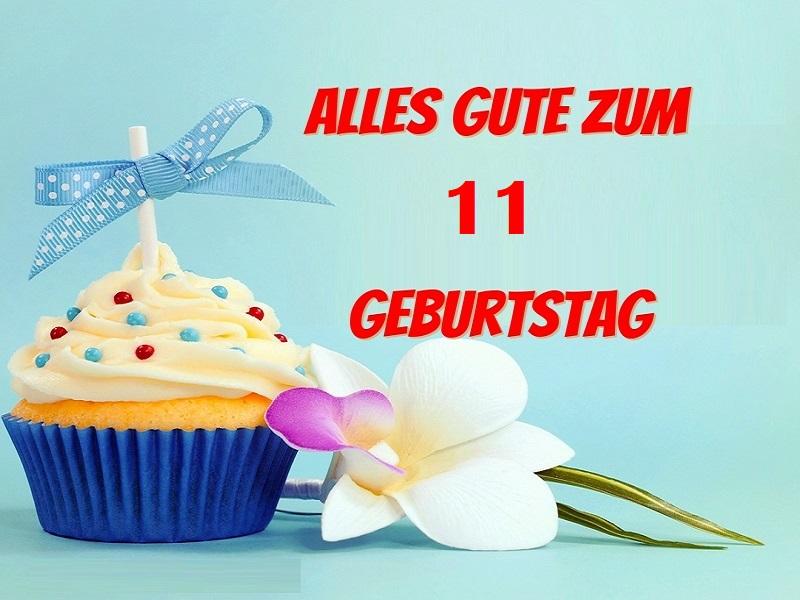 Glückwunsch Zum 11. Geburtstag