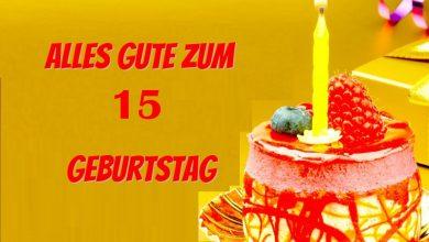 Alles Gute Zum 15 Geburtstag  390x220 - Alles Gute Zum 15 Geburtstag