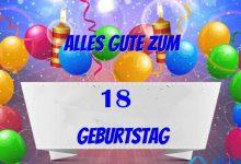 Alles Gute Zum 18 Geburtstag  220x150 - Alles Gute Zum 18 Geburtstag