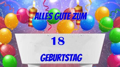Alles Gute Zum 18 Geburtstag  390x220 - Alles Gute Zum 18 Geburtstag
