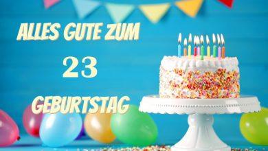 Alles Gute Zum 23 Geburtstag  390x220 - Alles Gute Zum 23 Geburtstag