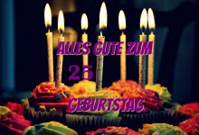 Alles Gute Zum 25 Geburtstag  220x150 - Alles Gute Zum 25 Geburtstag