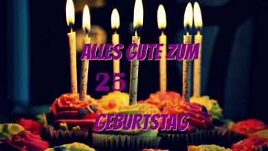Alles Gute Zum 25 Geburtstag  390x220 - Alles Gute Zum 25 Geburtstag