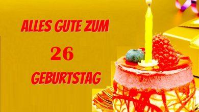 Alles Gute Zum 26 Geburtstag  390x220 - Alles Gute Zum 26 Geburtstag
