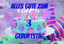 Alles Gute Zum 3 Geburtstag  220x150 - Alles Gute Zum 3 Geburtstag