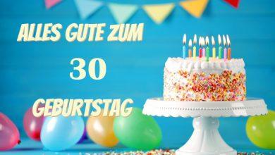 Alles Gute Zum 30 Geburtstag 390x220 - Alles Gute Zum 30 Geburtstag