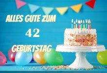 Alles Gute Zum 42 Geburtstag  220x150 - Alles Gute Zum 42 Geburtstag