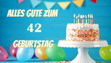 Alles Gute Zum 42 Geburtstag 390x220 - Alles Gute Zum 42 Geburtstag