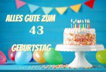 Alles Gute Zum 43 Geburtstag 220x150 - Alles Gute Zum 43 Geburtstag